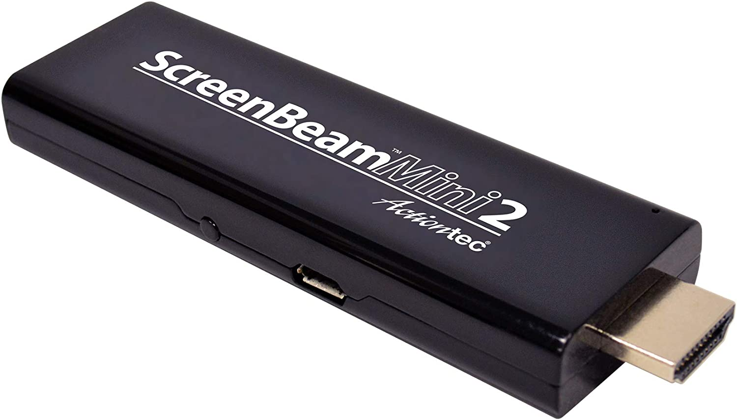 ScreenBeam (Previously Actiontec) Mini2 Wireless Display Adapter/Receiver with Miracast (SBWD60A01) – Mirror Phone/Tablet/Laptop to HDTV, No Apps Required, Supports Select Android & Windows Devices