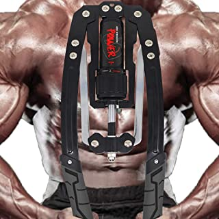 RELIANCER Adjustable Hydraulic Power Twister Arm Exerciser 22-440lbs Home Chest Expander Muscle Shoulder Training Fitness ...