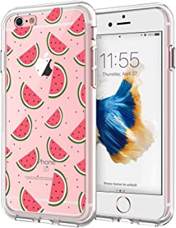 iPhone 6s Plus Case,Alsoar iPhone 6 Plus Case Clear Soft TPU Slim Cute Cartoon Funny Animal Pattern Rubber Silicone Anti Scratch Shockproof Skin Cover Case for iPhone 6s Plus / 6 Plus (Watermelon)