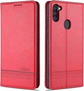 CRABOT Reemplazo para Samsung Galaxy A11/M11 Funda de Cuero PU Plegable Cartera Cierre Magnético Ranura para Tarjeta,Sopor...
