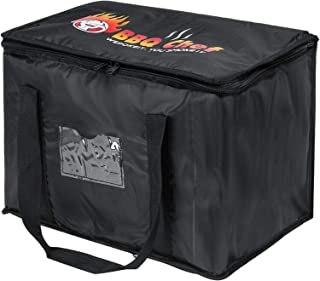 MIAOQI Sac de livraison de nourriture pour pizza, boissons à emporter, sac de glace réutilisable, pliable, portable, isoth...