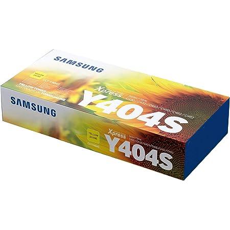 Samsung CLT-Y404S SU444 Cartuccia Toner Standard Originale, 1000 Pagine, Compatibile con le Stampanti Laserjet Serie Xpress C430, C480 e C483, Giallo