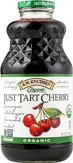 Knudsen Organic Just Tart Cherry Pure Juice, 32 Ounce -- 12 per case.