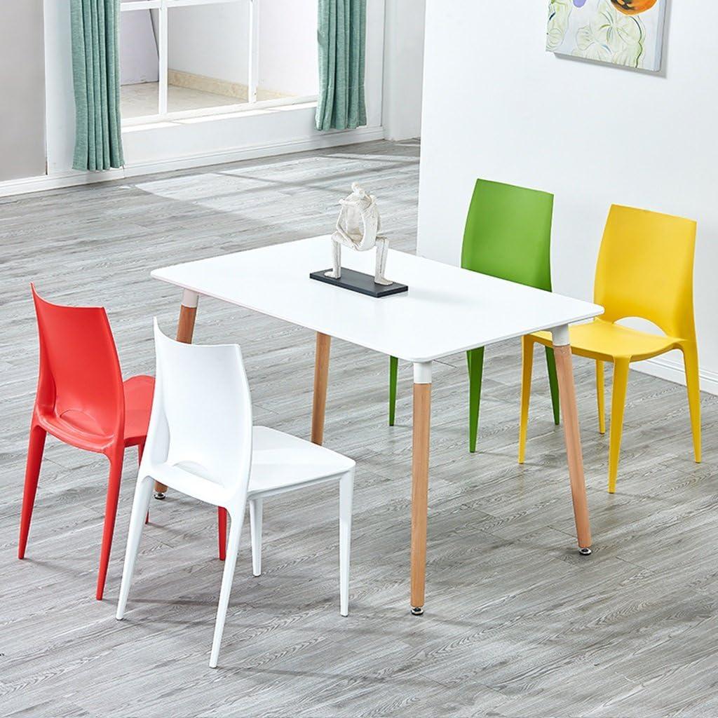 Président WGZ- Casual Simple Maison Moderne Table à Manger et Une Chaise Simple (Color : E) B