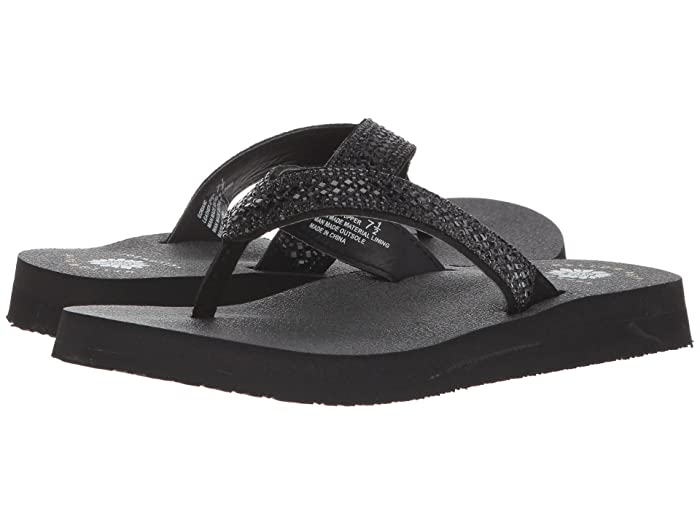 Yellow Box  Soriano (Black) Womens Sandals