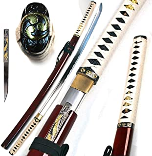 Ace Martial Arts Supply Handmade Zetsurin Sharp Samurai Katana Sword – Musha