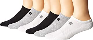 Mens Charged Cotton 2.0 No Show Socks (6 Pack)