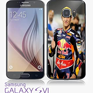 Luis Salom Red Bull for iPhone and Samsung Galaxy Case (Samsung Galaxy S6 Edge black)