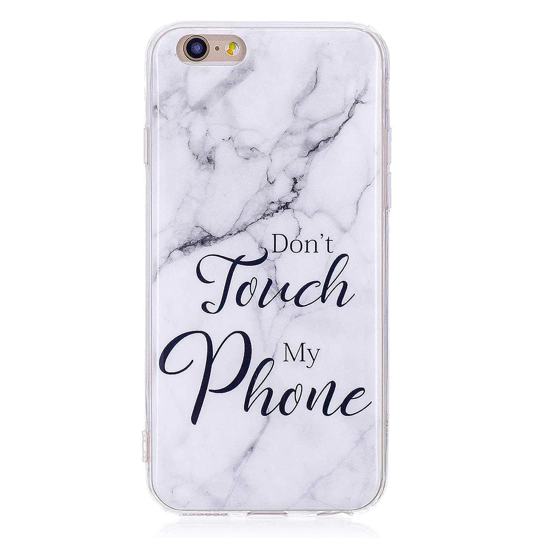 積分可動式ワーカーiPhone 6 / iPhone 6s ソフト ケース, CUNUS Apple iPhone 6 / iPhone 6s ケース TPU シリコン スリム 薄型 耐摩擦 耐衝撃 スマホケース, 新品 高級 ケース, 模様7