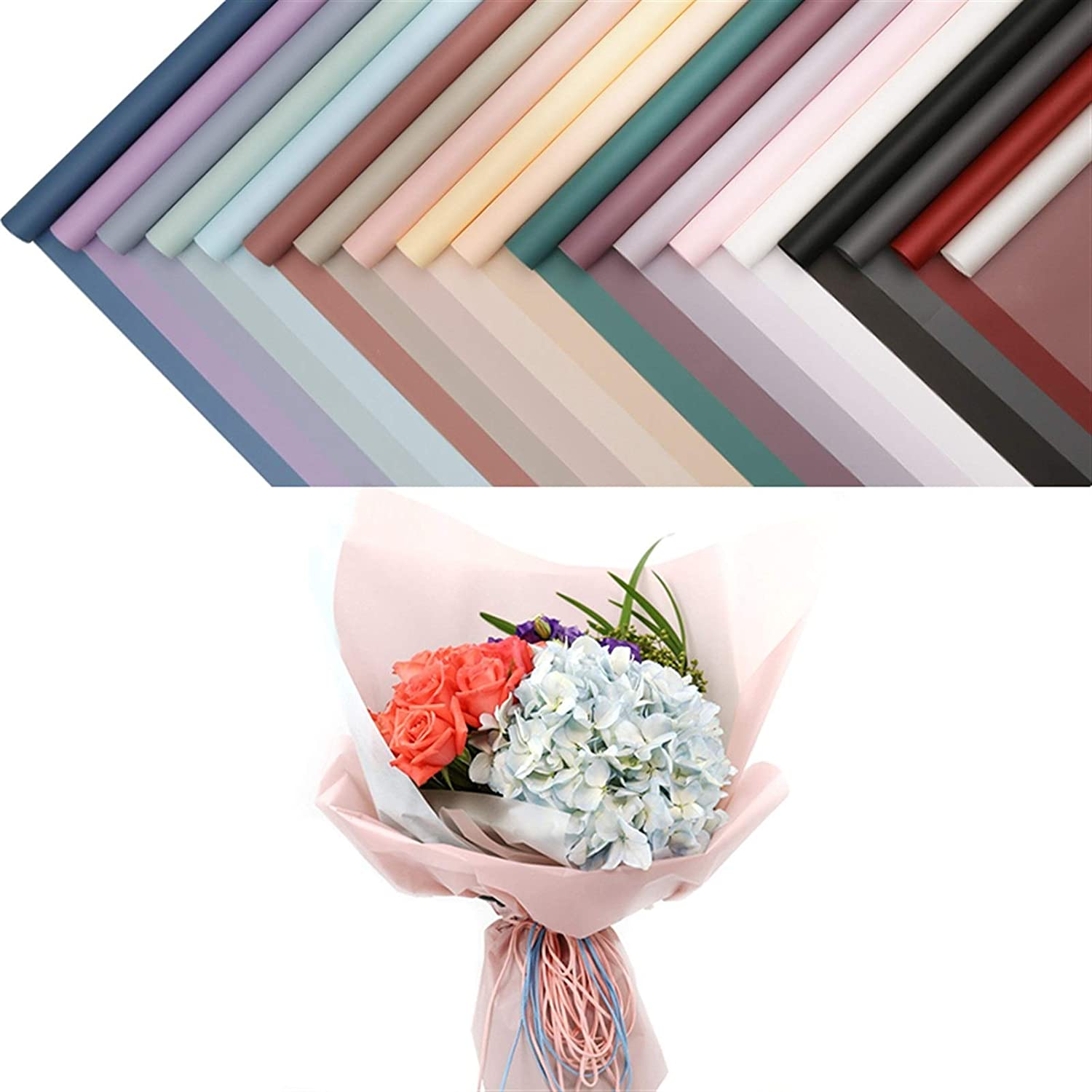 20pcs Korean Waterproof Wrapping Packaging Paper Gift Max 63% OFF Las Vegas Mall S