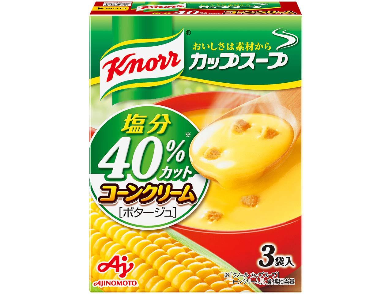 Ajinomoto Max 66% OFF Knorr 40% cup soup corn cream 54.6g salt Be super welcome ~ cut piec 10