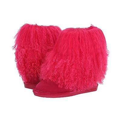 Bearpaw Kids Boo (Little Kid/Big Kid) (Electric Pink) Girls Shoes