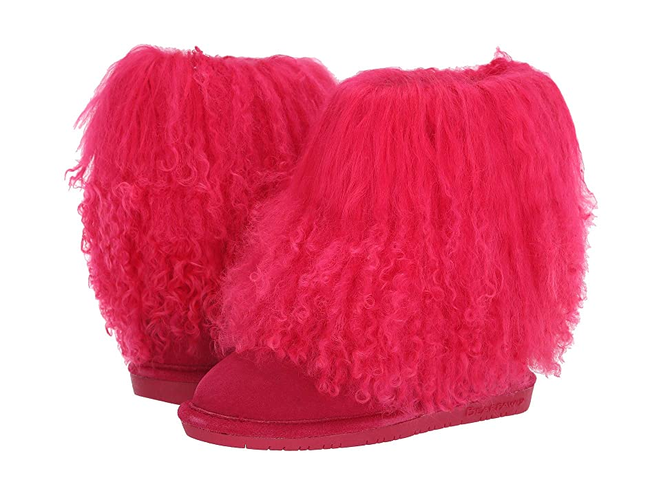 Bearpaw Kids Boo (Little Kid/Big Kid) (Electric Pink) Girls Shoes