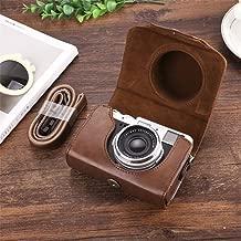 Suitable for Fuji X10 X30 X20 Leather Case X100F X100S X100T Camera Bag,Suitable for Fuji X10 X30 X20 Leather Case X100F X100S X100T Camera Bag,Brown