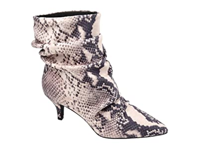 Journee Collection Comfort Foam Jo Bootie (Snake) Women