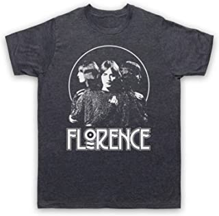 Florence Welch Triple Face Machine XL Vintage Slate Mens T-Shirt