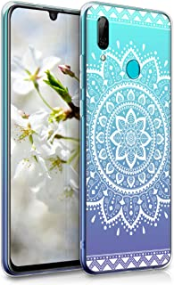 kwmobile TPU Silicone Case for Huawei P Smart (2019) - Crystal Clear Smartphone Back Case Protective Cover - White/Transparent