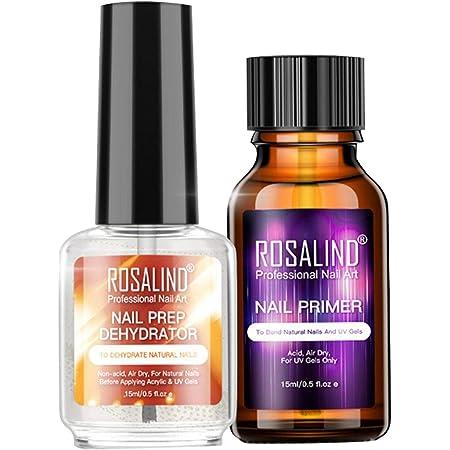 2 piezas de deshidratante de preparación de uñas natural + ...