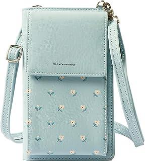 Lorna Girls Women's Mobile Cell Phone Holder Pocket Wallet Hand Purse Clutch Crossbody Sling Bag