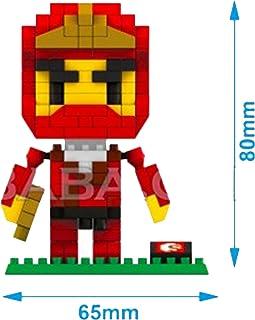 Amazon.com: IBlock Fun Red Ninja Building Blocks (215pcs ...