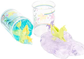 Unicorn Twinkle Glitter 3 Ounce Putty Slime Surprise Assorted Pack of 2