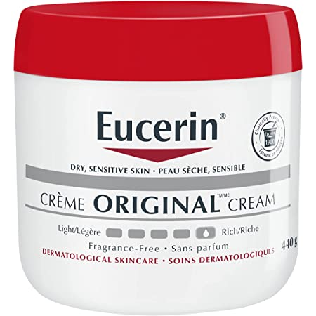 Eucerin Original Healing Cream, Fragrance Free, 16 Ounce (Pack of 2)