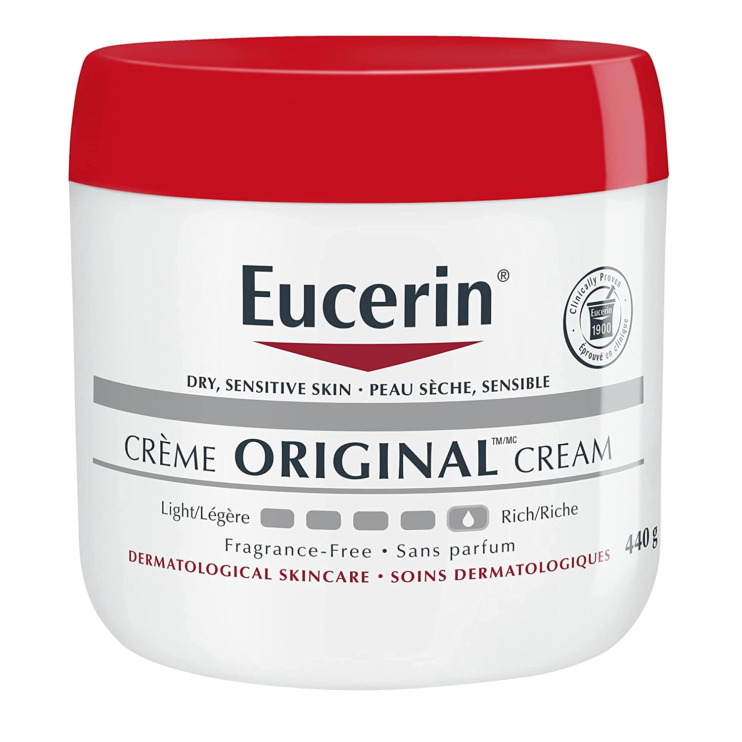 Eucerin Original Healing Cream Fragrance 16 Great interest o Pack Popular brand in the world Ounce Free