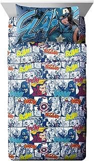 Jay Franco Marvel Avengers Publish 4 Piece Full Sheet Set,