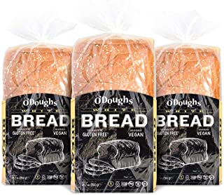 O'Dough Gluten Free White Bread Loaf, 24.7 Ounce [3 Packs]