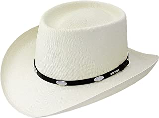 Men's Royal Flush 10X Shantung Straw Cowboy Hat - Ssryflk8130