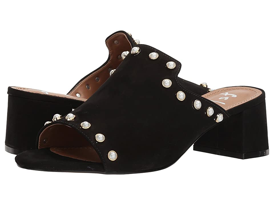 French Sole Atomize (Black Nubuck) Women