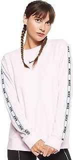 Nike Women's W Nsw Crew Logo Tape Sweatshirt