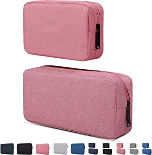 Electronic Accessories Organizer, Durable Small Electronics Accessories Storage Bag Compatible Laptop Charger Various USB,...