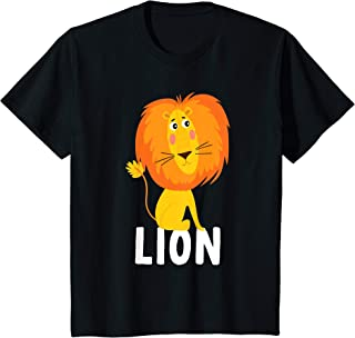 Kids Lion Animal Shirt For Boys Or Girls | Cute Lion Gift