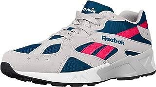 Reebok Aztrek - Women's White/Navy/Acid Pink Nylon Running Shoes