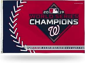 Rico Industries MLB Washington Nationals World Series 2019 Champions 3 X 5 Banner Flag