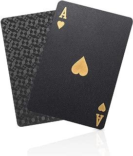 ブラック トランプ 防水 フレックスカード マジック 黒い 手品 54枚入り ダイヤモンドシリーズ アップグレード版