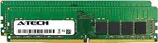 A-Tech 32GB Kit (2 x 16GB) for HP Z240 Workstation - DDR4 PC4-21300 2666Mhz ECC Unbuffered UDIMM 2Rx8 - Server Specific Memory Ram (AT383245SRV-X2U1)