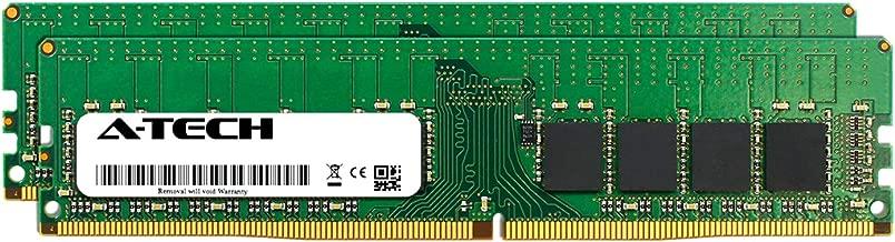 A-Tech 32GB Kit (2 x 16GB) for Dell PowerEdge T30 - DDR4 PC4-21300 2666Mhz ECC Unbuffered UDIMM 2Rx8 - Server Specific Memory Ram (AT316654SRV-X2U3)