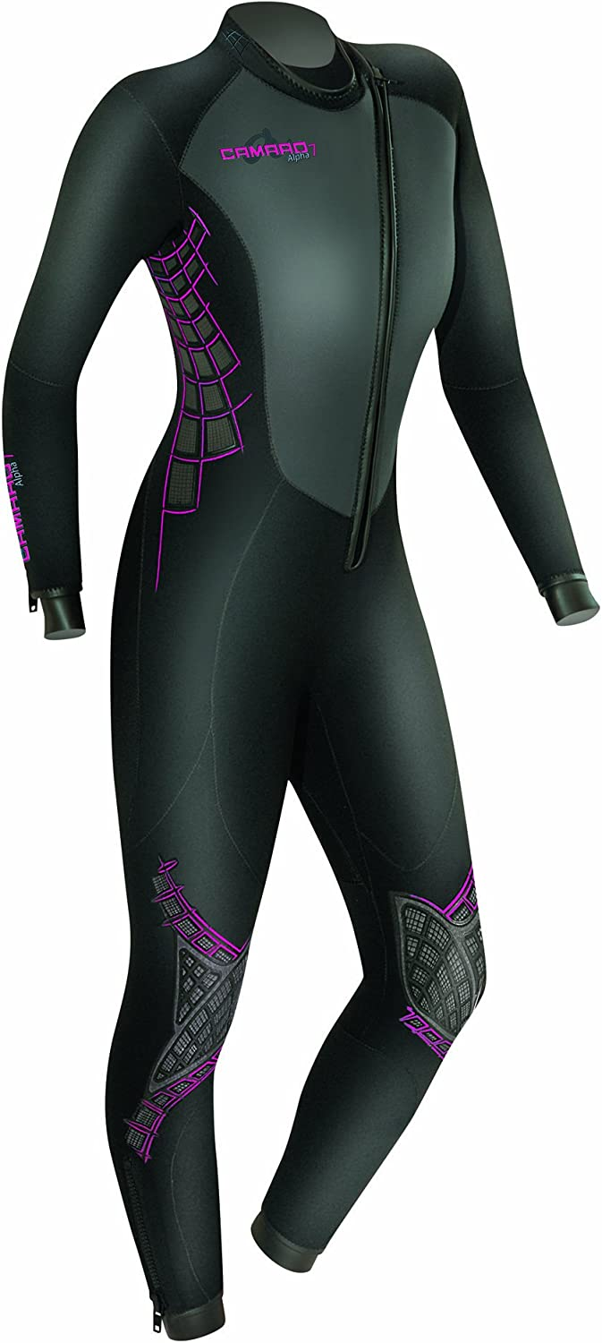 Camero Women's Alpha 7 5 3mm SemiDry Superelastic Dive Neoprene Suit