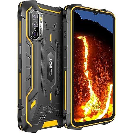 "Teléfono Móvil Resistente CUBOT KingKong 5 Pro, Android 11.0 Smartphone Robusto,Batería 8000mAh,4+64GB(TF 256GB) 6,088"" HD+,Cámara 48MP+25MP,IP68/IP69K Móviles Antigolpes,Octa-Core,Dual SIM 4G,NFC,OTG"