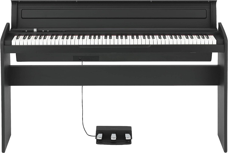 Korg 88 スーパーセール期間限定 Key 記念日 Lifestyle Piano LP180BK Black