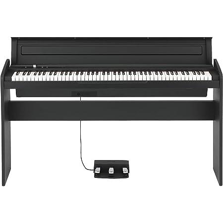 KORG コルグ 電子ピアノ LP180 88鍵 ブラック 黒 電子ピアノ部門最優秀賞を受賞したKORGによる人気商品 譜面立てとペダルが付属