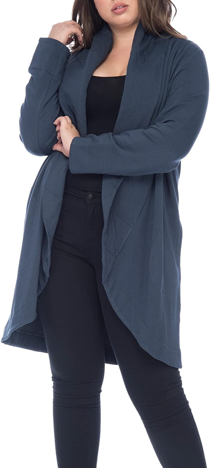 Bobeau Peri Plus Size Jacket Navy Quilted Collar with Brand new Max 52% OFF
