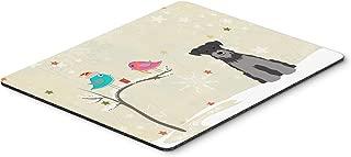 Caroline's Treasures Christmas Presents, Miniature Schnauzer Mouse Pad, Multicolor, 7.75x9.25 (BB2524MP)