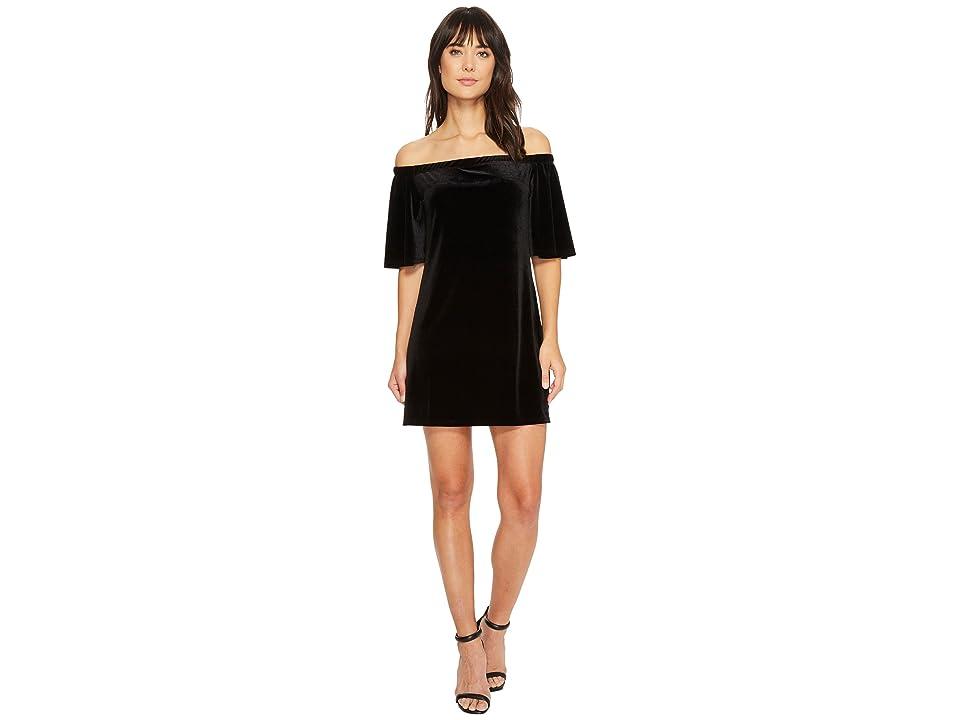 LAmade Sophie Stretch Velvet Dress (Black) Women