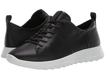 ECCO Flexure Runner Tie (Black) Women