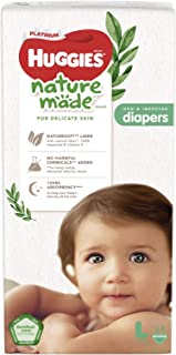 Huggies Platinum Naturemade Tape Diapers L 54s
