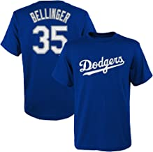 Outerstuff Cody Bellinger Los Angeles Dodgers #35 Blue Kids 4-7 Name and Number Jersey T-Shirt