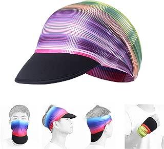 AXBXCX Headband Women Headwrap with Sun Protective Soft Brim Sun Visor Cap Brim